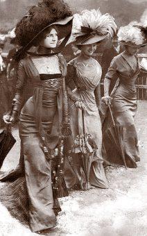 мода во франции 1900-1910 годов