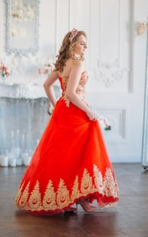 платье на Венский бал аренда киев