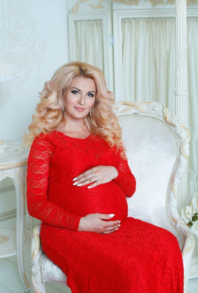 платье с рукавами для беременных