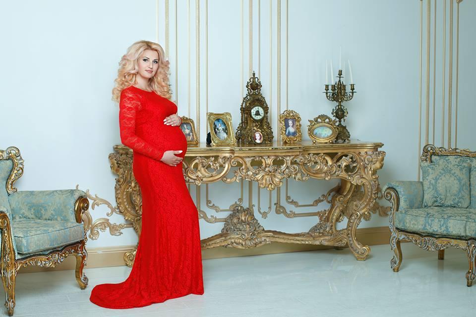 платье со шлейфом для беременны для фотосессии
