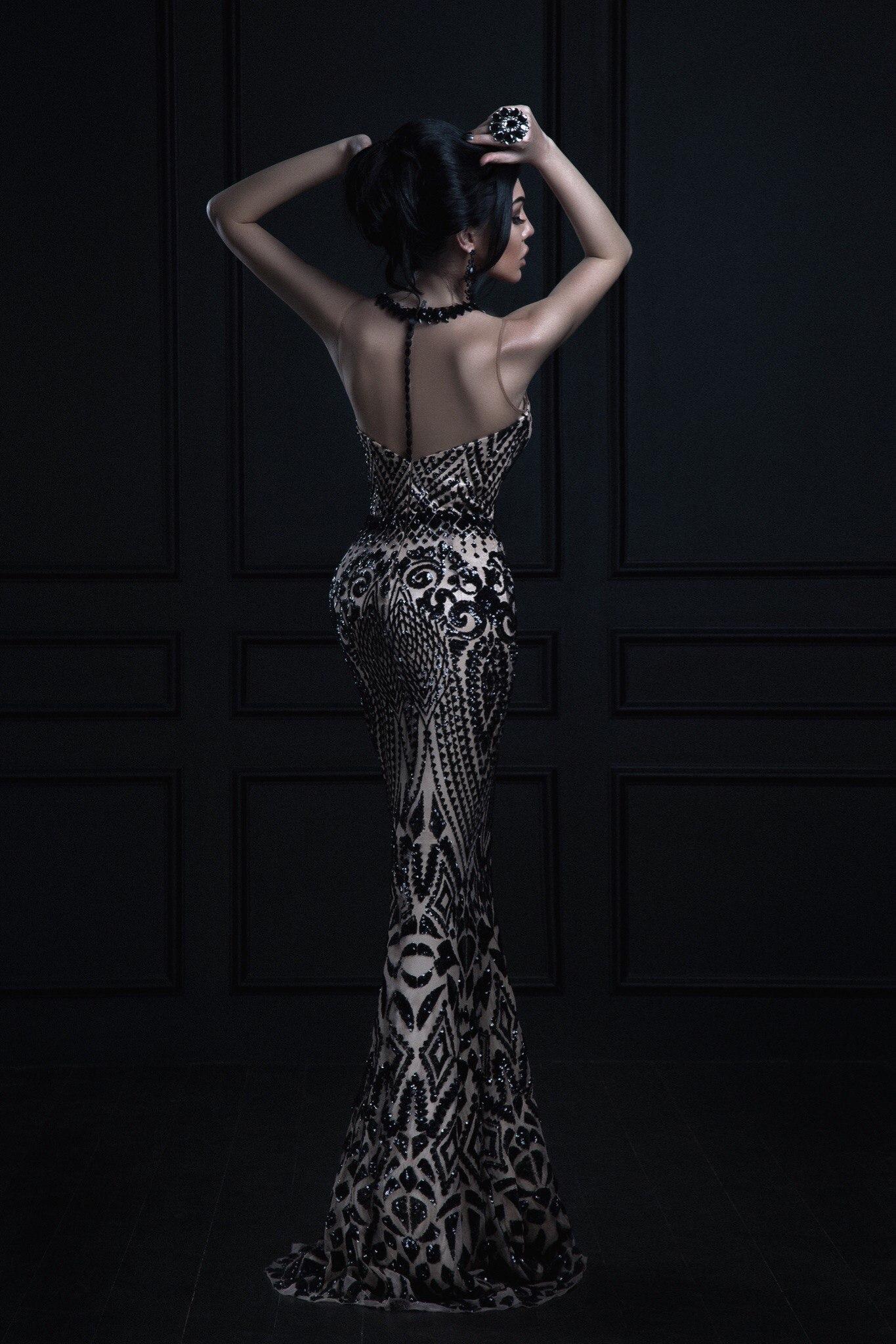 Прокат платье рыбка invito