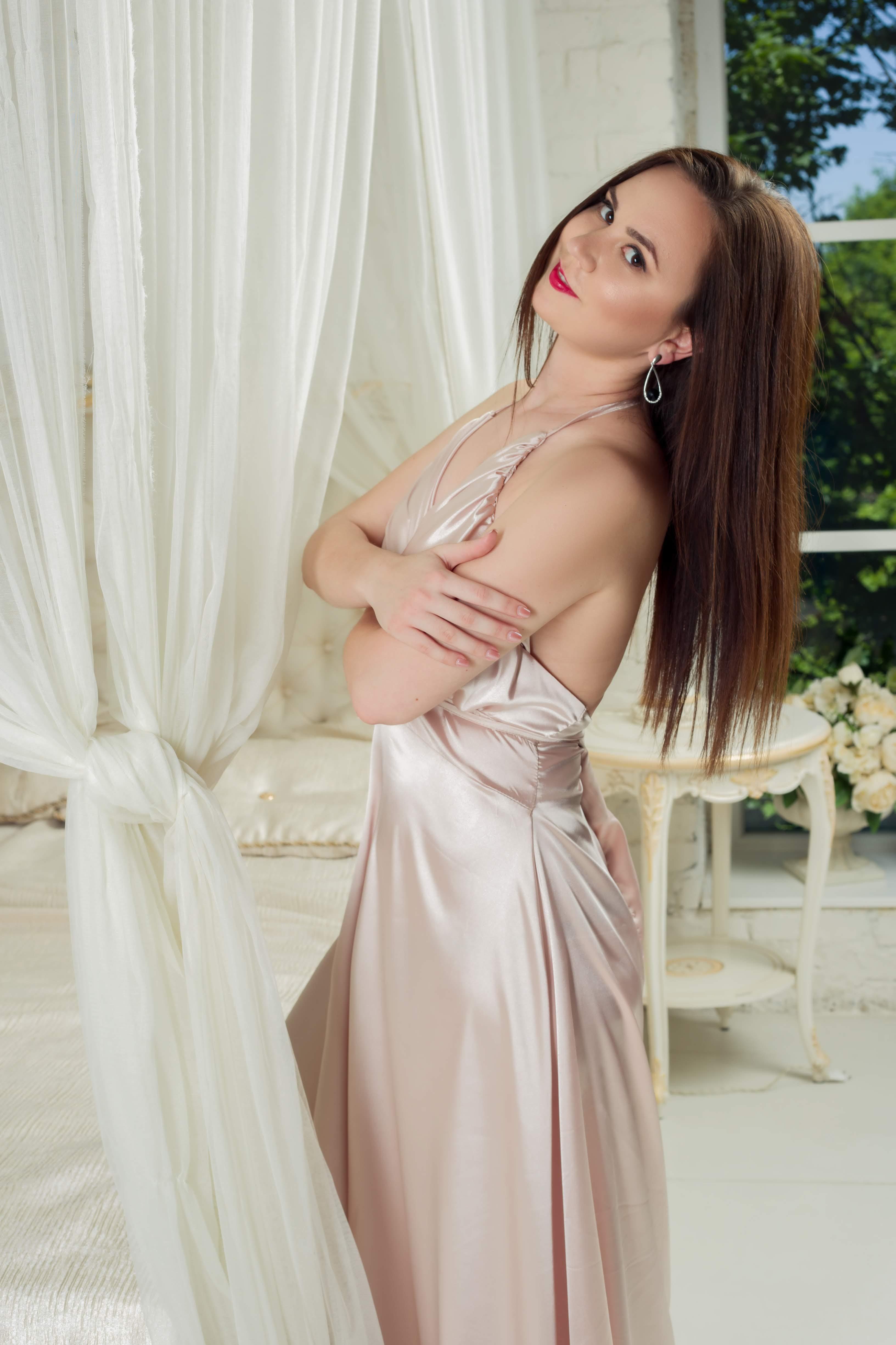 пудровое платье для фотосессии киев прокат