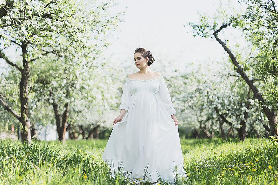 платье в стиле прованс для фотосесии прокат