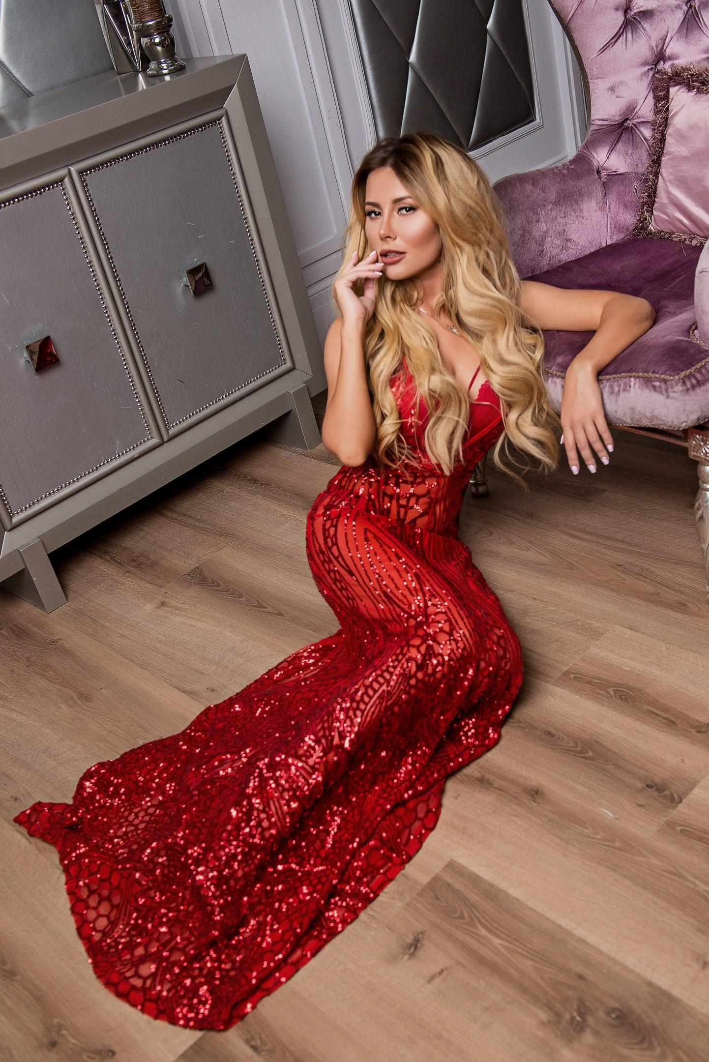 красное платье для фотосессии прокат киев