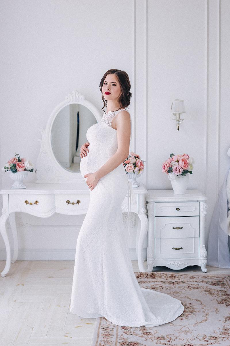 свадебное платье для беременных киев