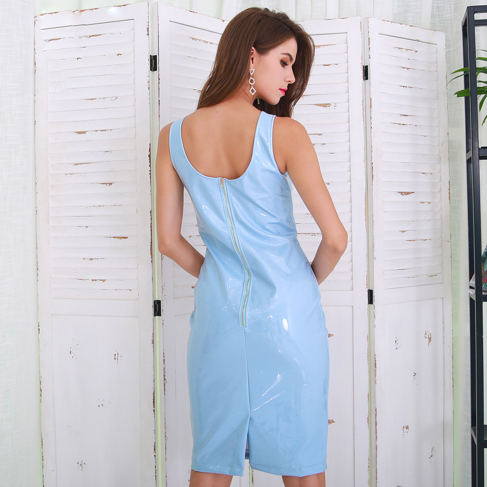 Платье с настоящего латекса