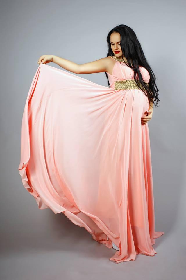 греческое платье для беременных
