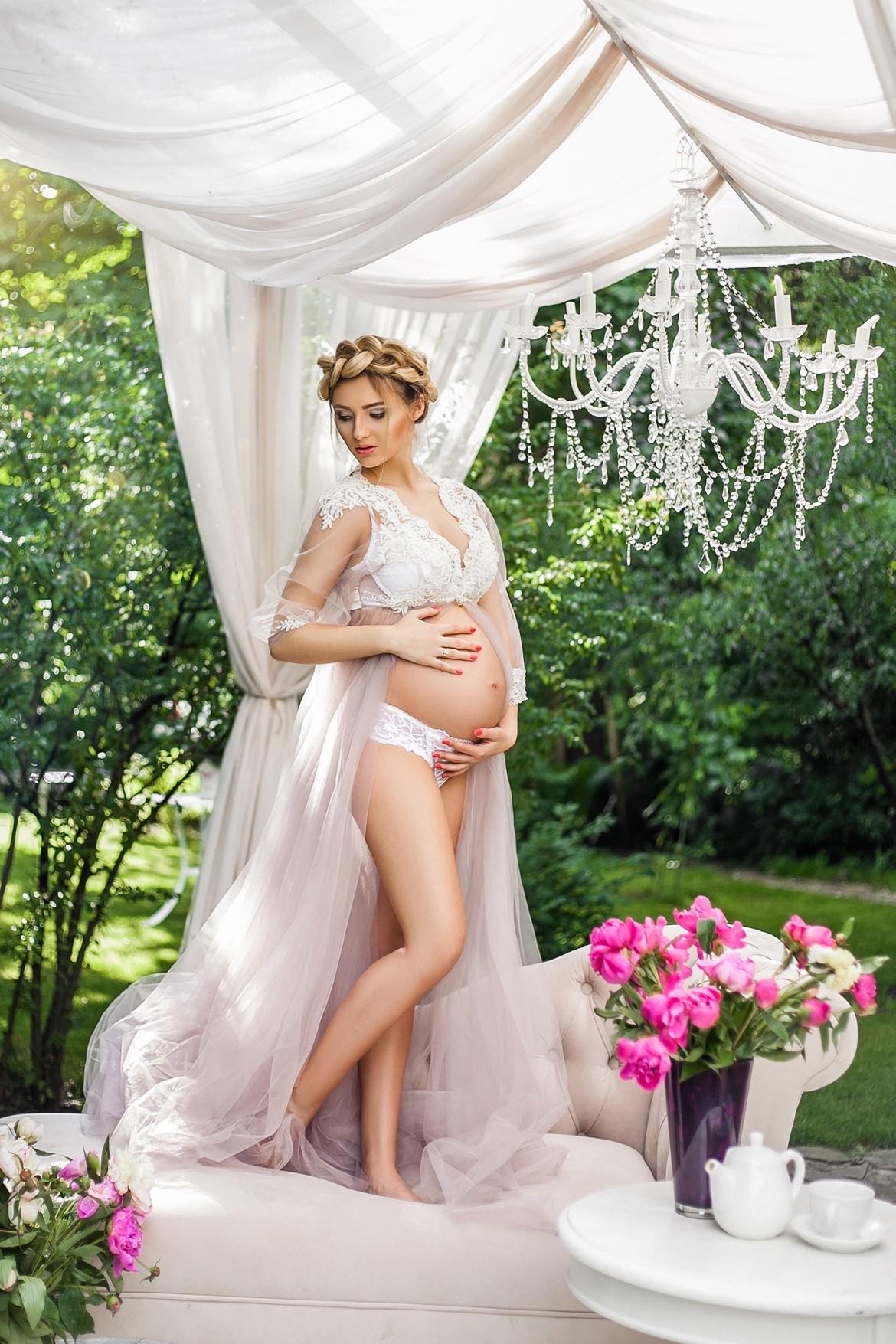 Пеньюар для беременных прокат киев