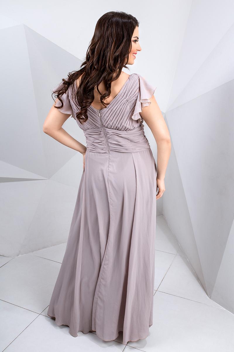 красивое платье в пол большого размера прокат киев