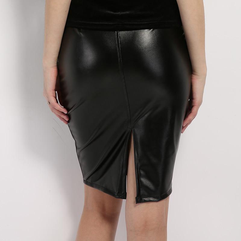 черная кожаная юбка прокат киев