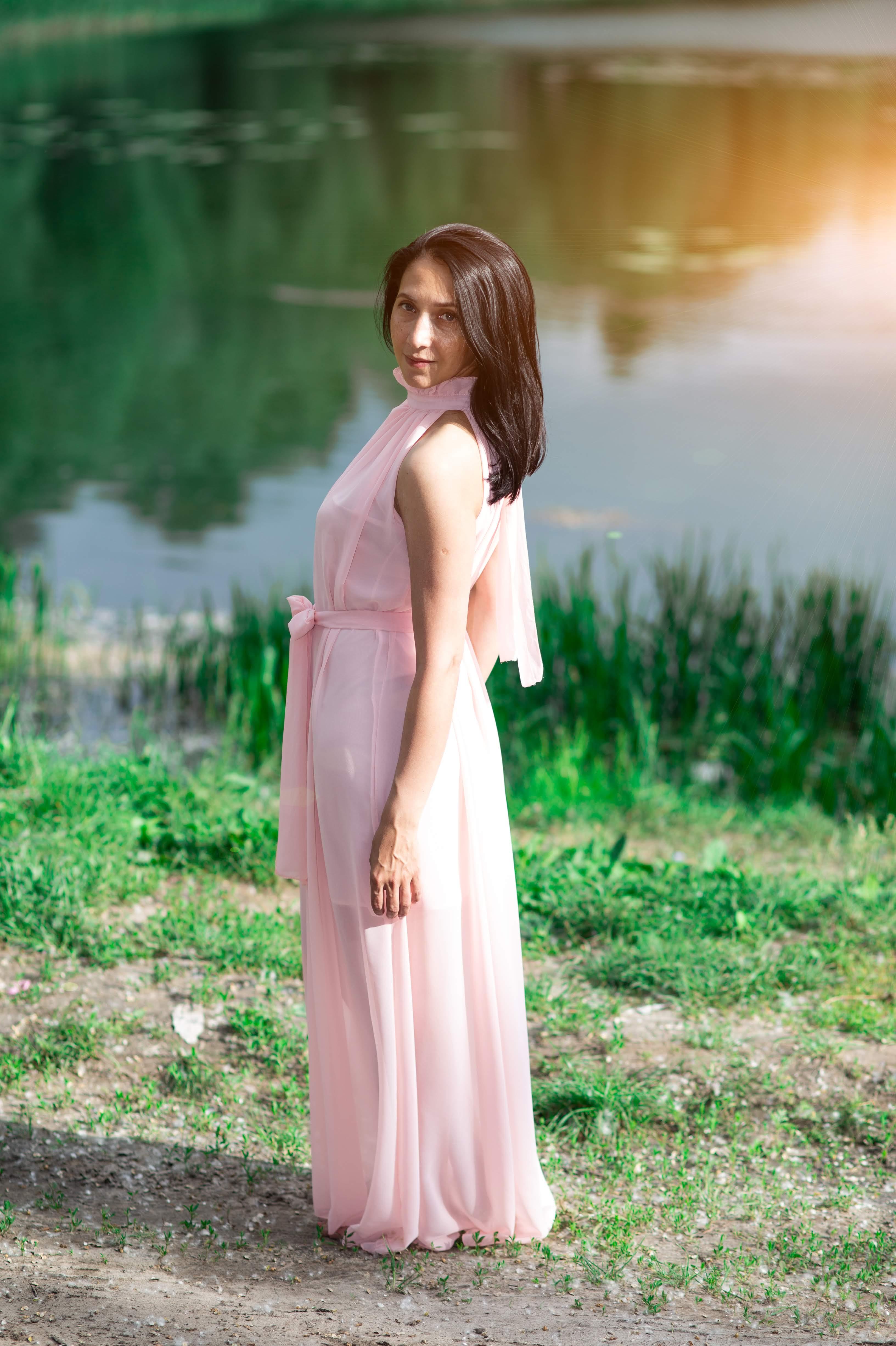 нежное Платье в стиле прованс прокат киев