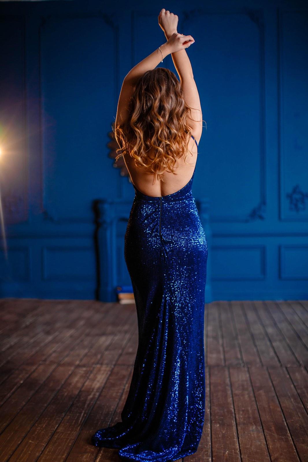 Платье с открытой спиной для фотосессии прокат киев