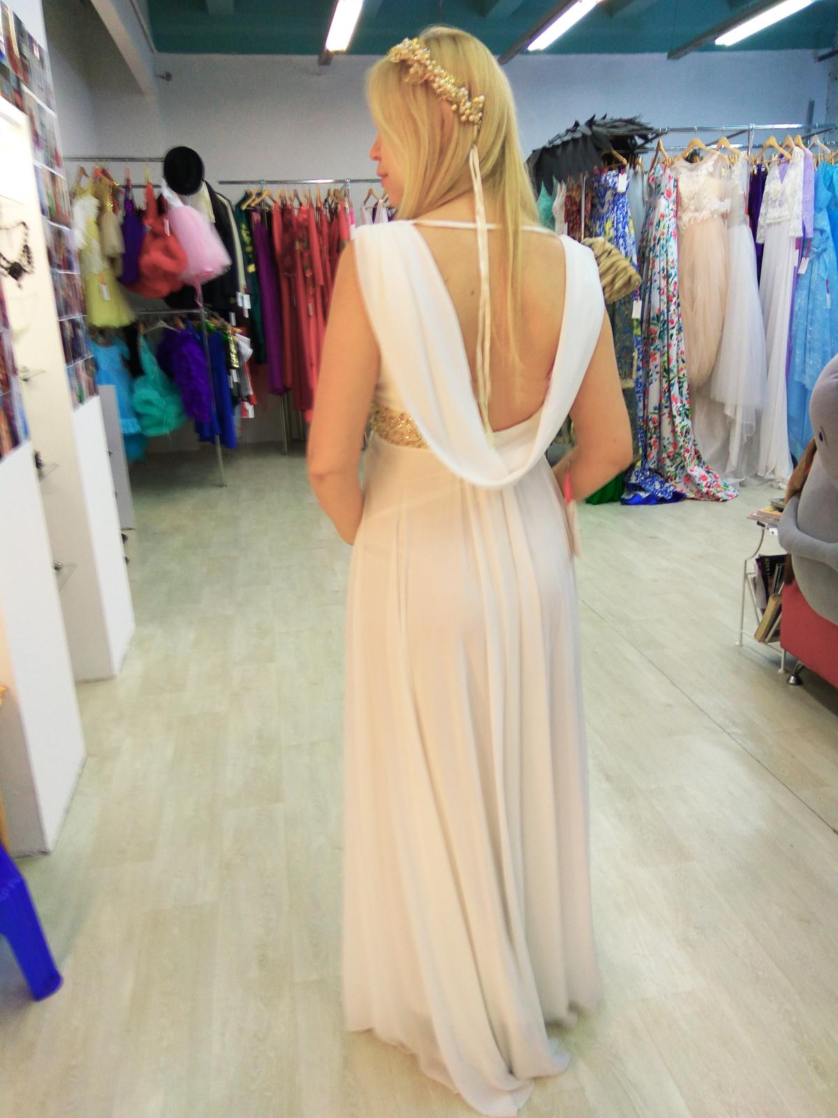 Белое греческое платье киев