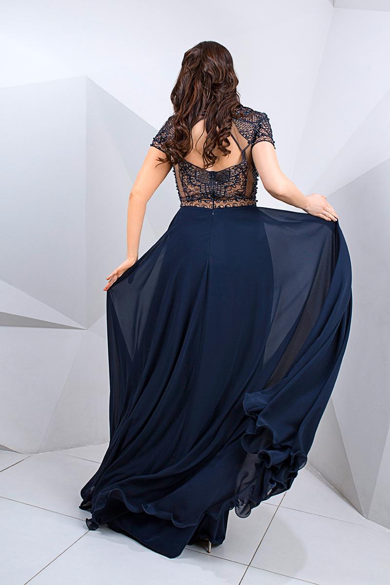 Вечернее платье в пол большого размера прокат киев