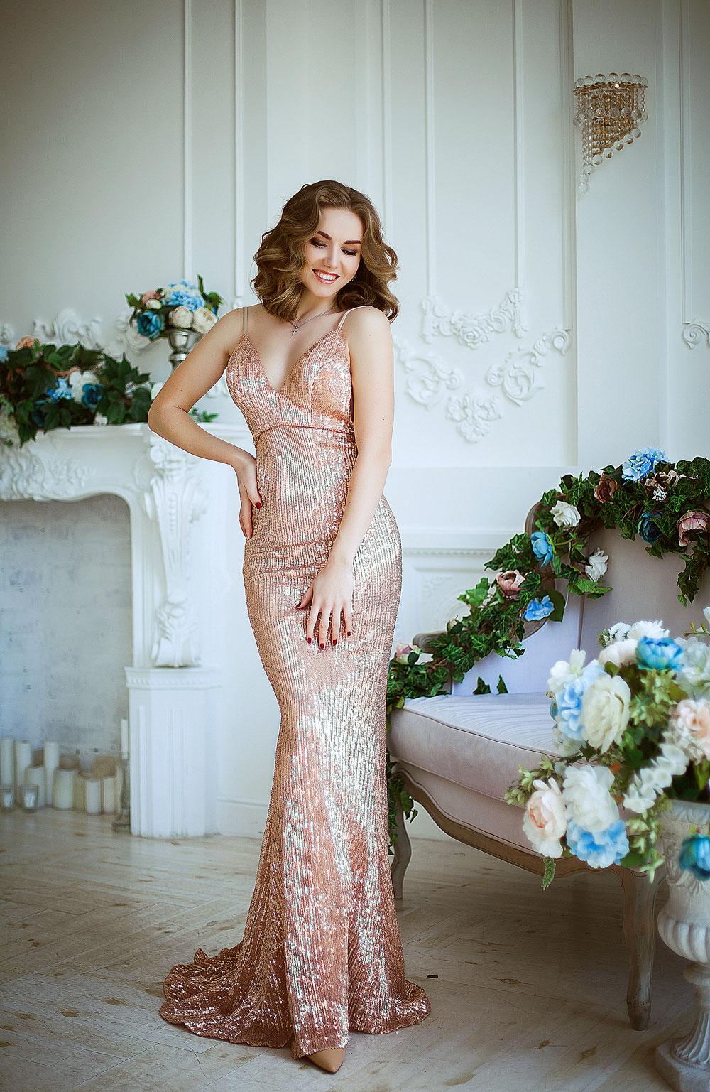 Платье на выпускной прокат