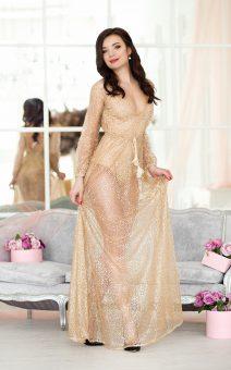 Прозрачное платье в пол киев