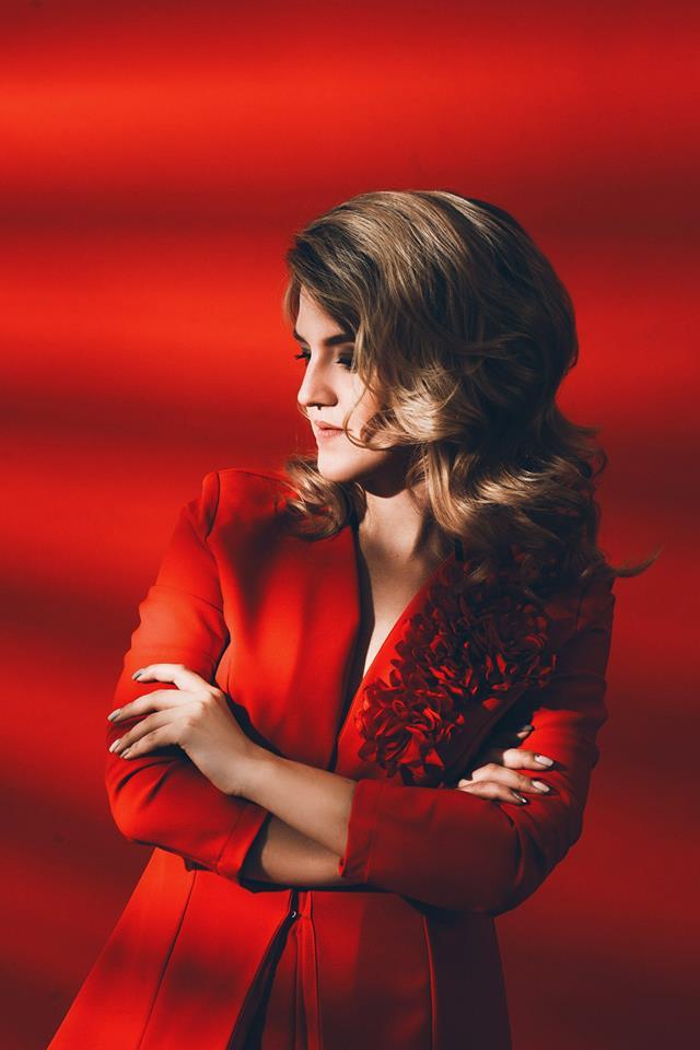 красное на красном модные тенденции фото
