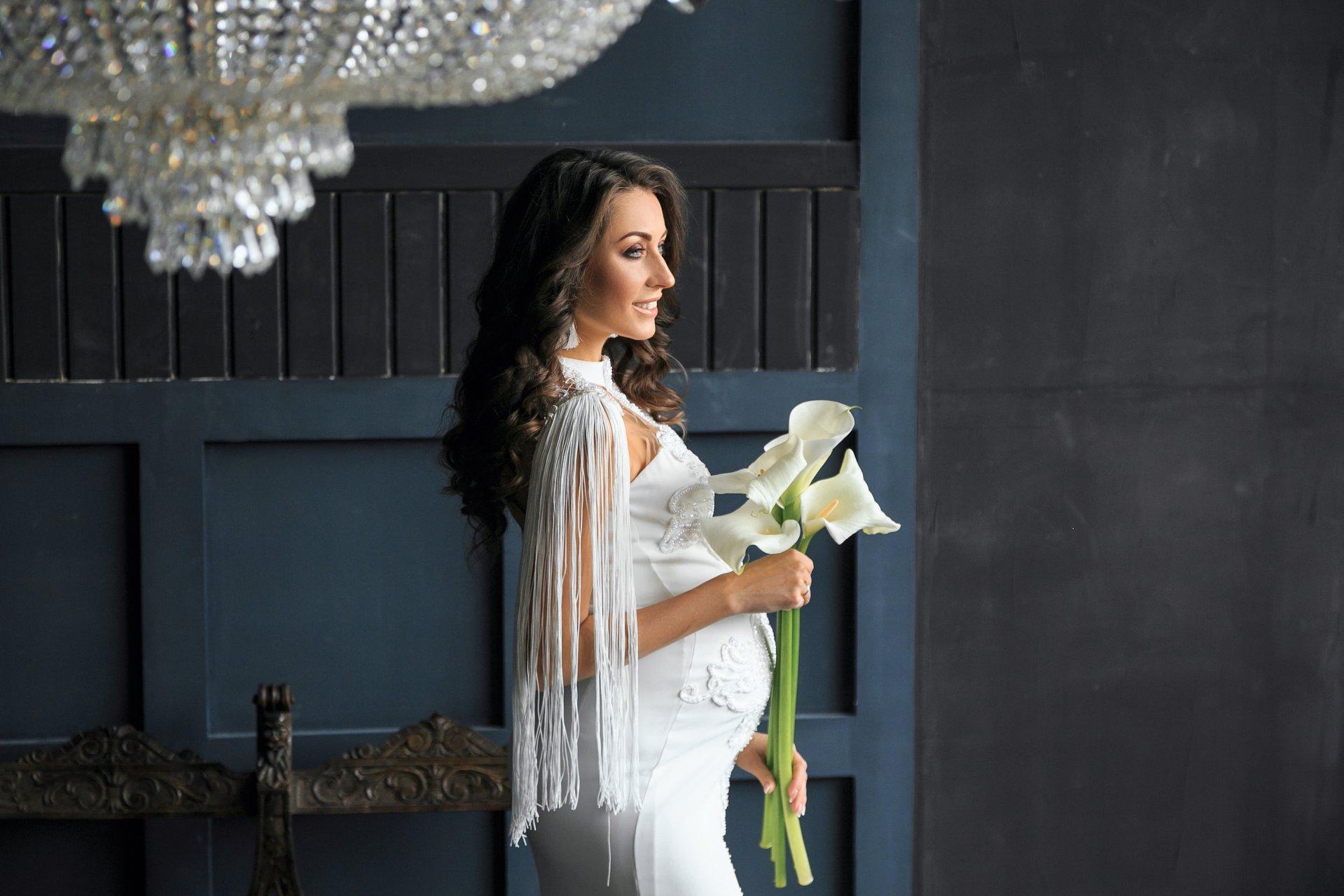 аренда свадебного платья для беременных киев