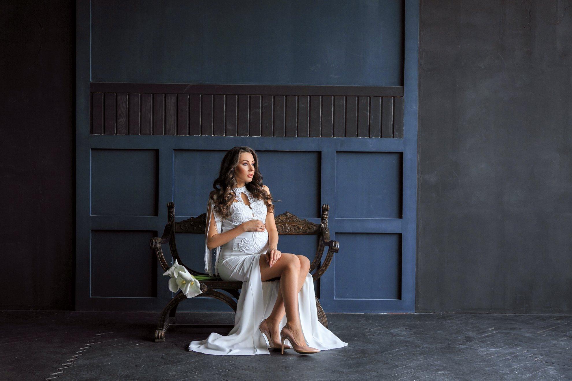 прокат свадебного платья для беременных киев