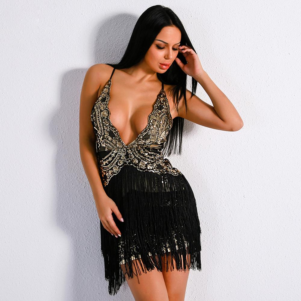 черное короткое платье для латино бочаты танцев киев