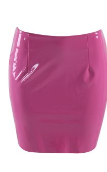 Короткая латексная юбка розовая киев прокат купить