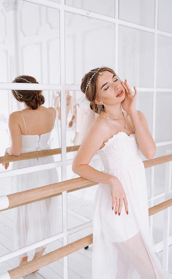 бальное платье тренировочное для фотосессии