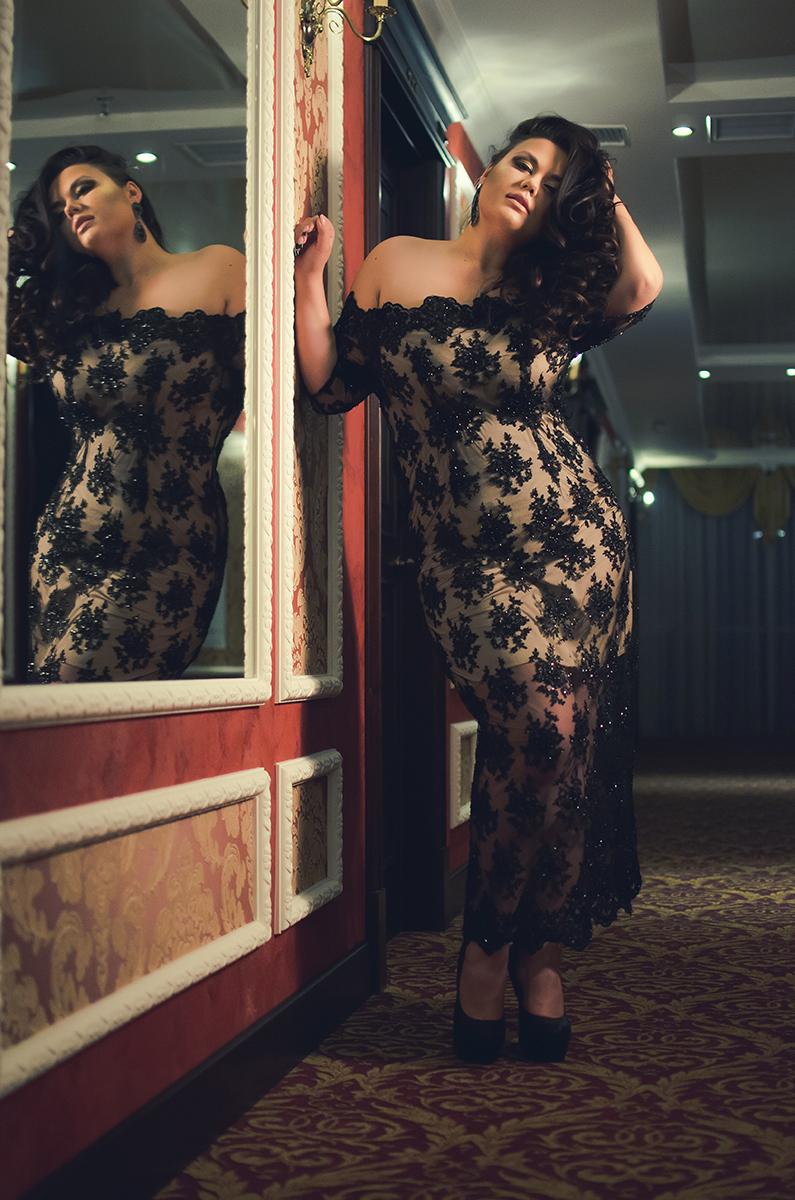 красивое вечернее платье большого размера киев