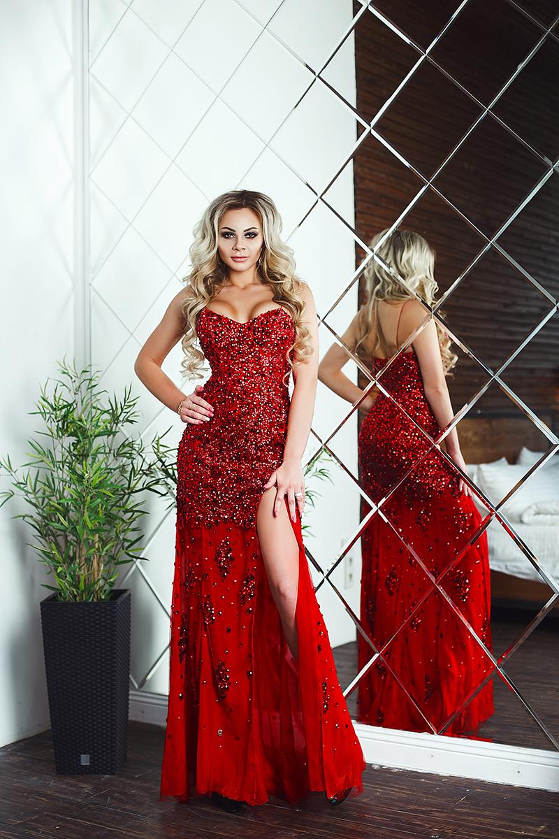 jovani red original аренда прокат продажа киев