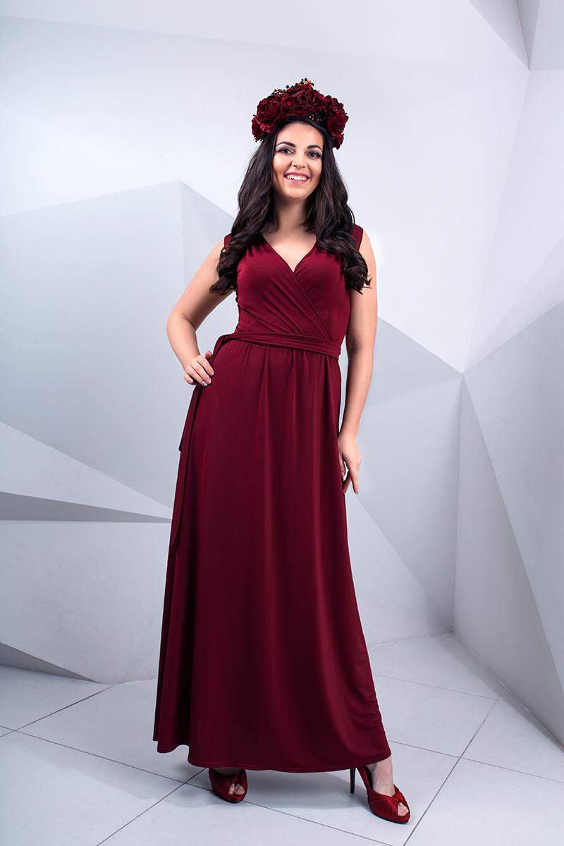 3237939bba0 красивое платье марсала киев прокат украина ...