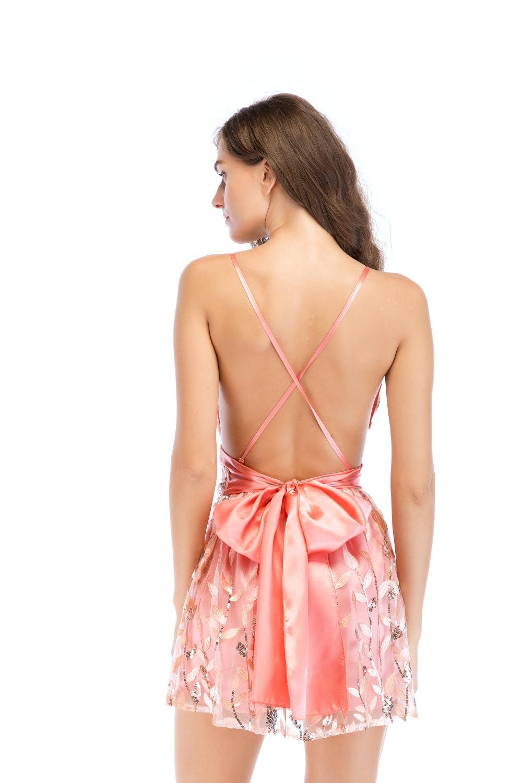 Короткое платье комбинезон персиковое прокат киев