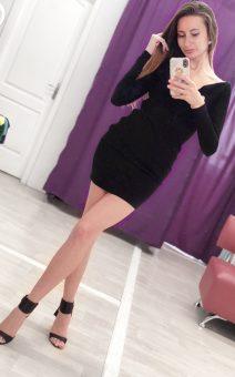 Маленькое черное платье прокат киев фотостудия ХХЛ