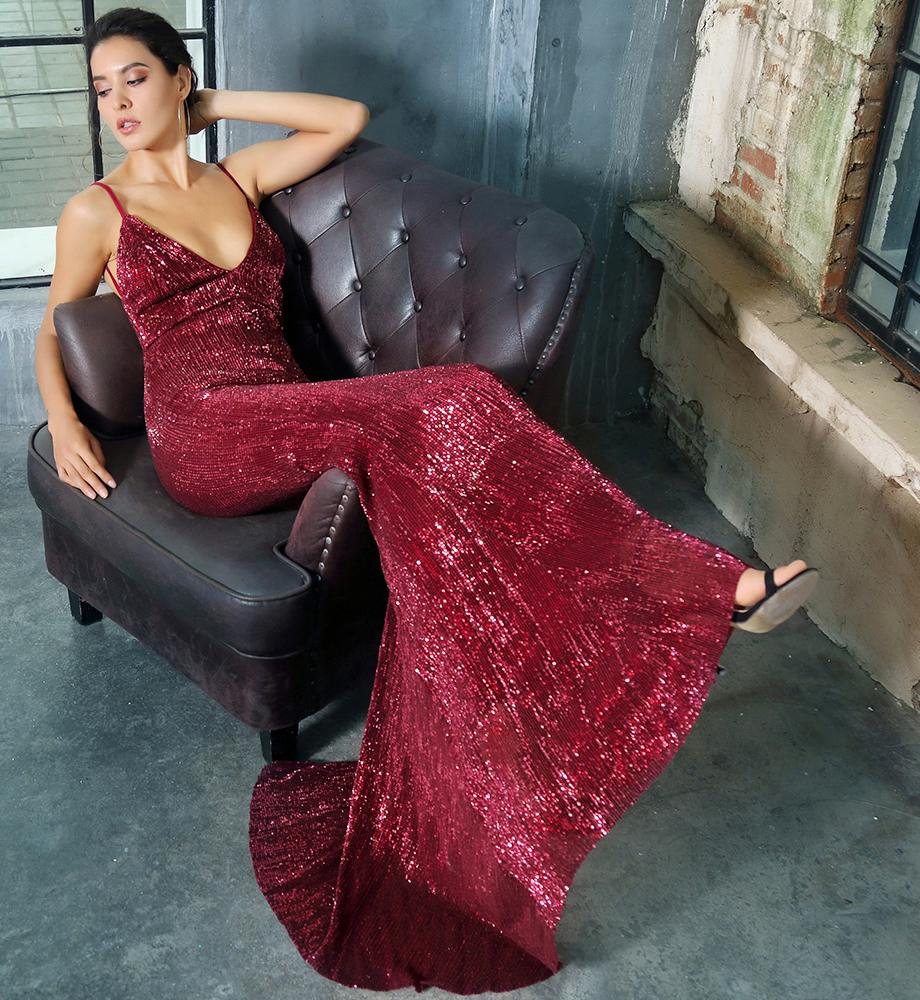 Вечернее платье бордо прокат киев