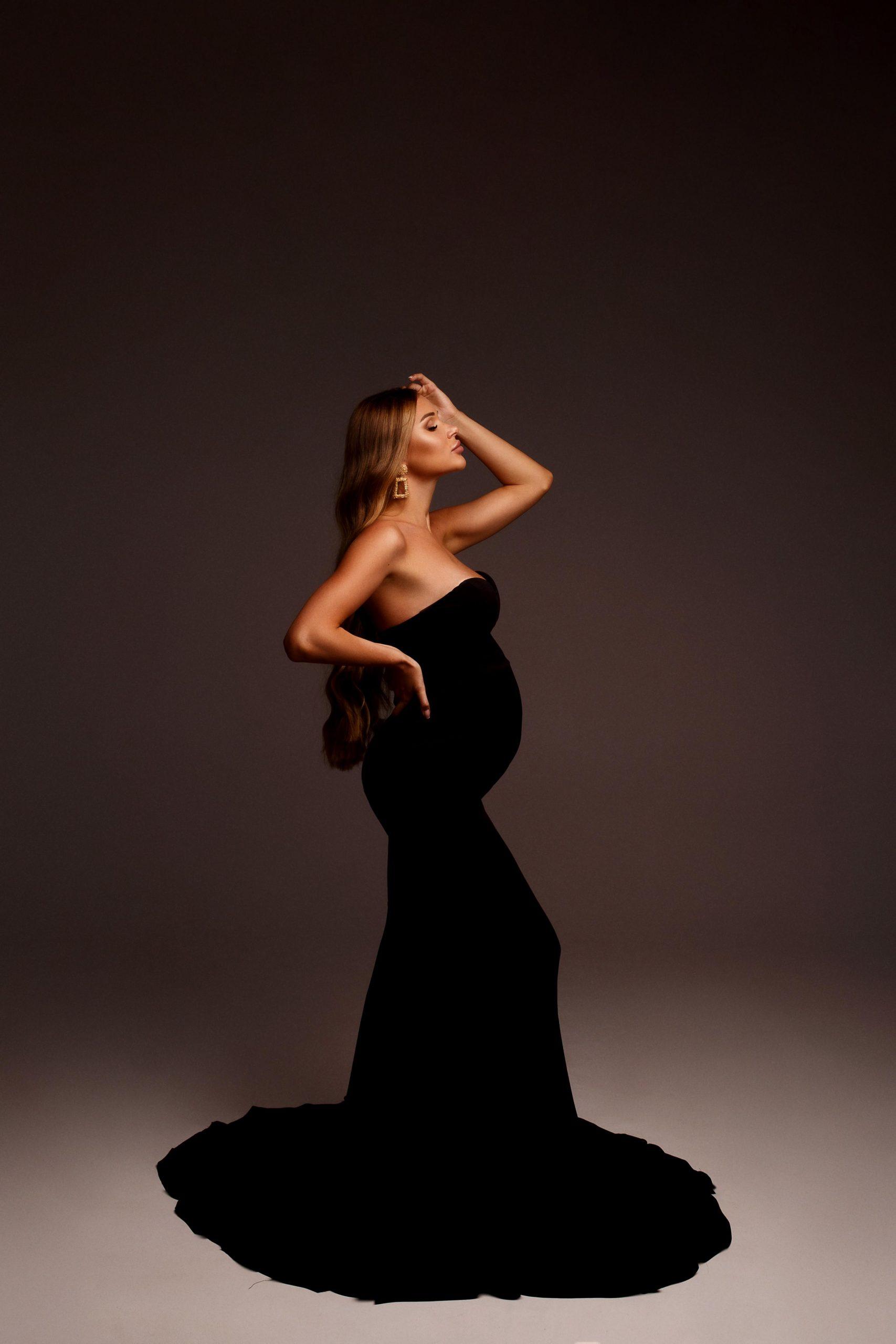 платье для беременных на фотосессию киев