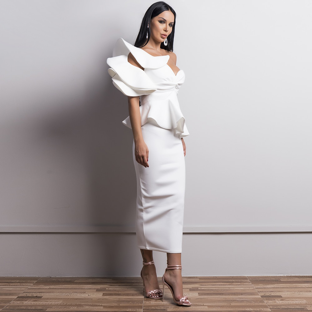 Аренда платья на одно плечо