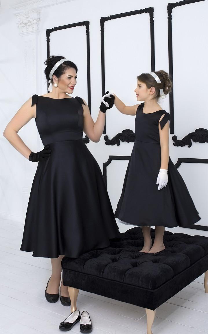 винтажные платья для мамы и дочки киев прокат