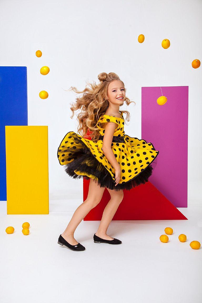 Детское платье стиляги буги-вуги