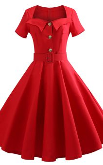 платье PinUP большого размера прокат киев