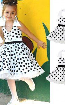 детское платье в горох прокат киев