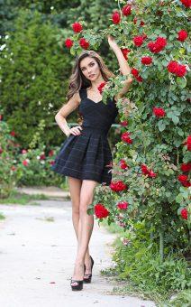 черное бандажное платье прокат киев продам