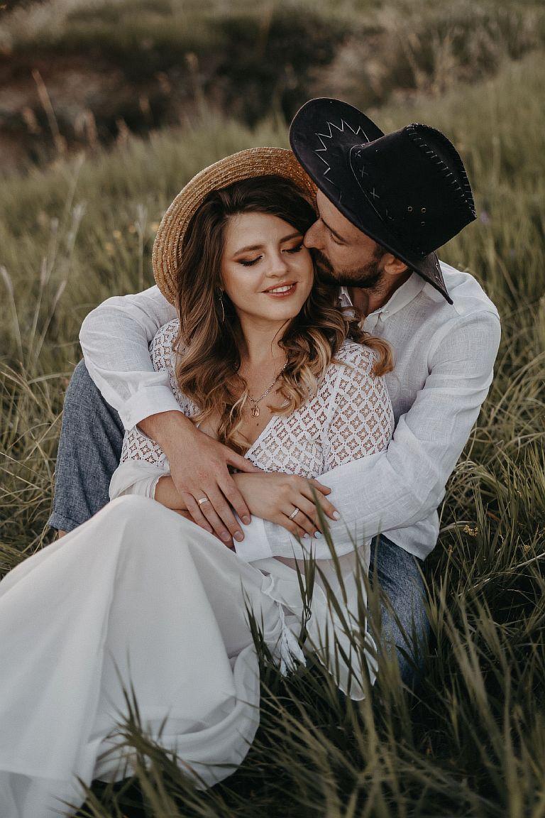 белое платье для фотосесси Love Story