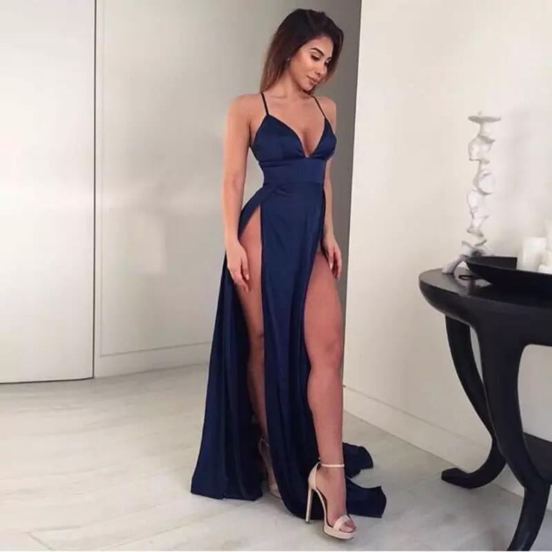 вечерне платье с боковыми разрезами купить киев