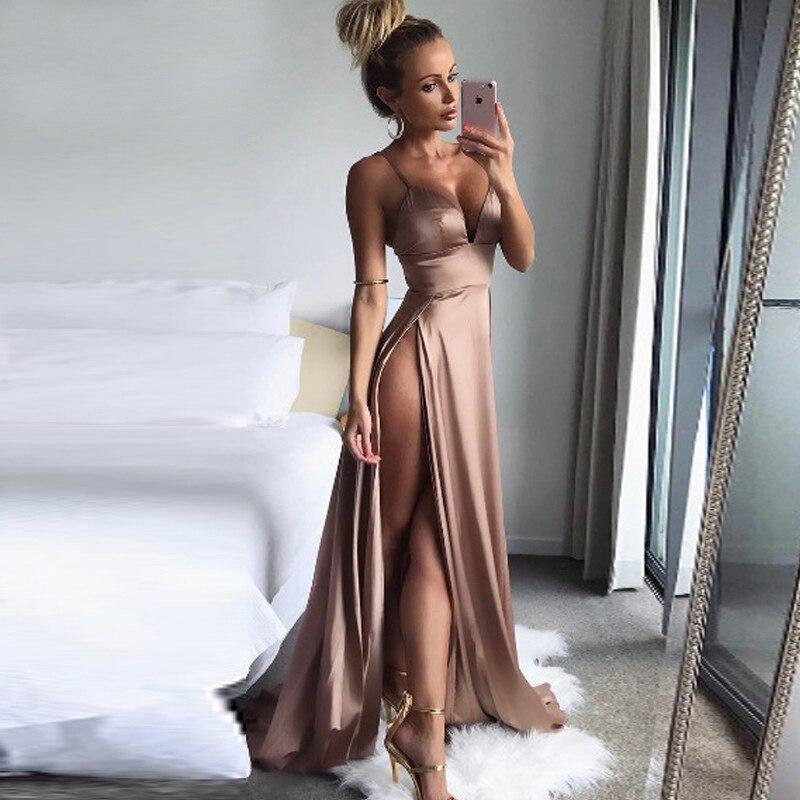 Пудровое платье в пол напрокат киев