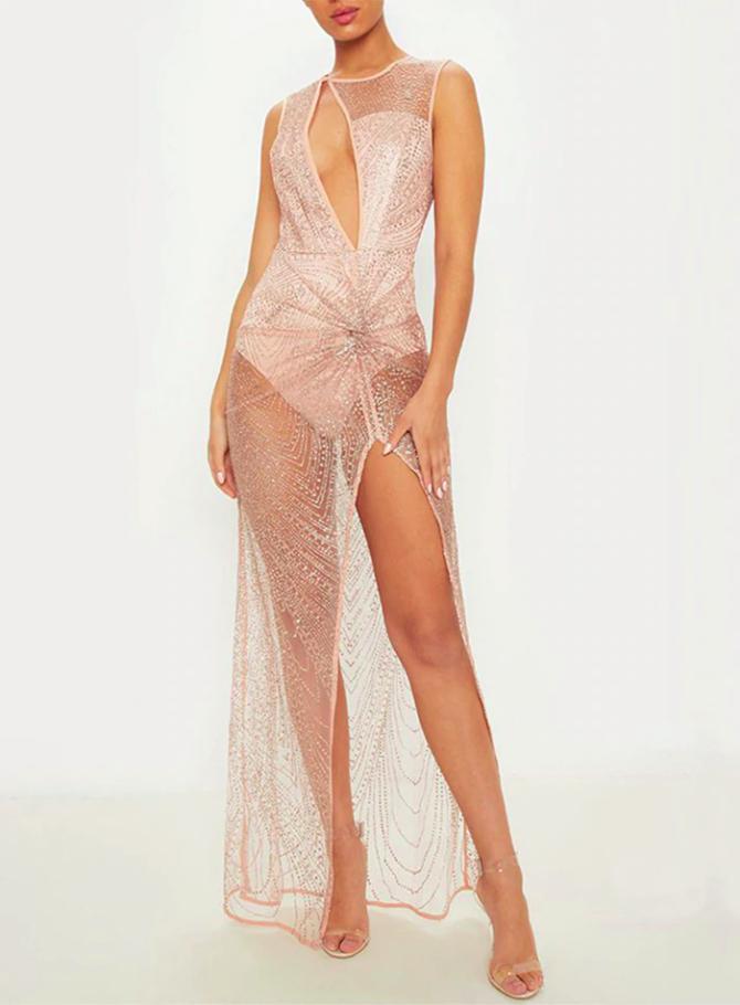 сексуальное прозрачное платье на вечеринку аренда прокат киев