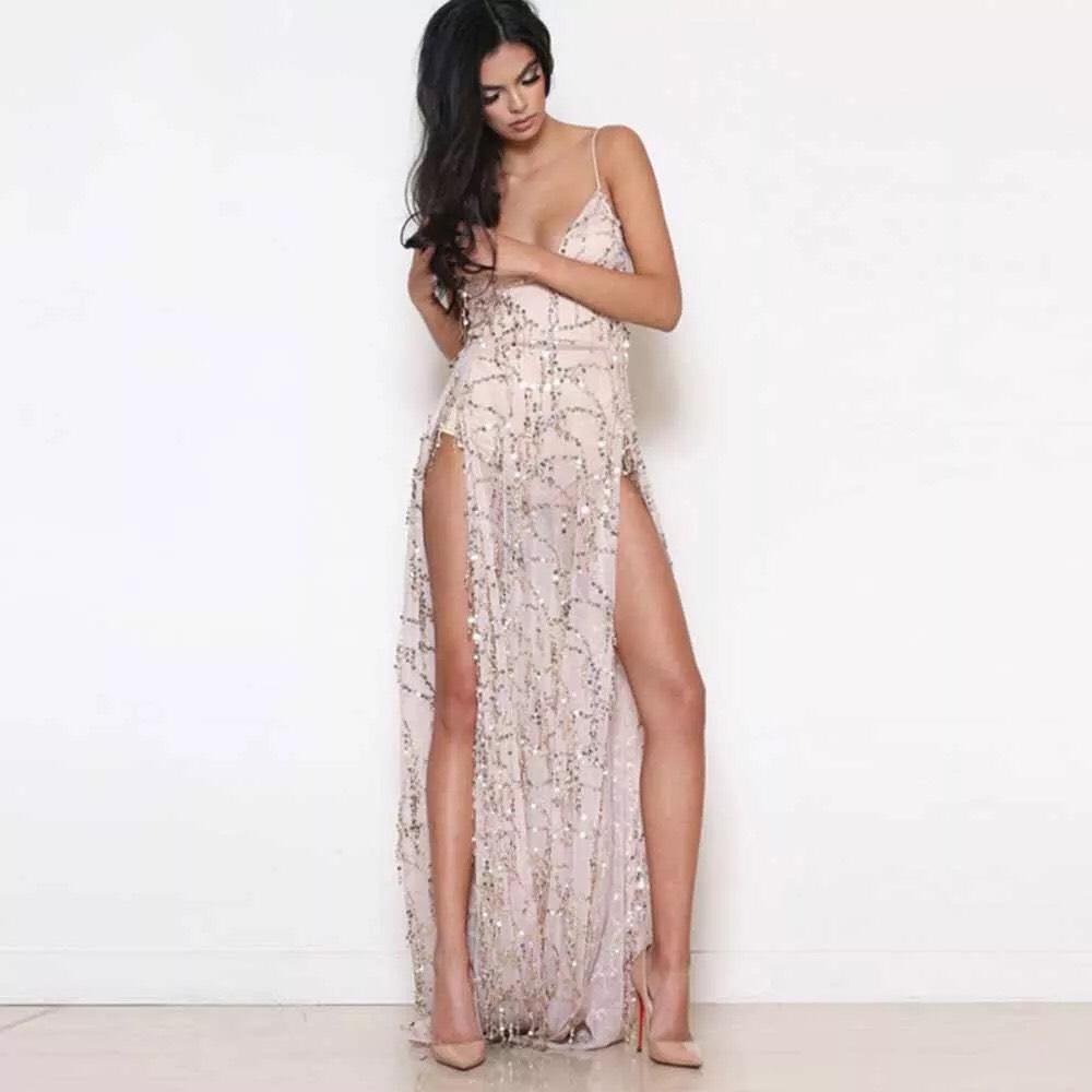 платье с боковым разрезом прокат киев