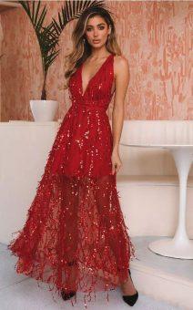 красивое красное платье не дорого киев