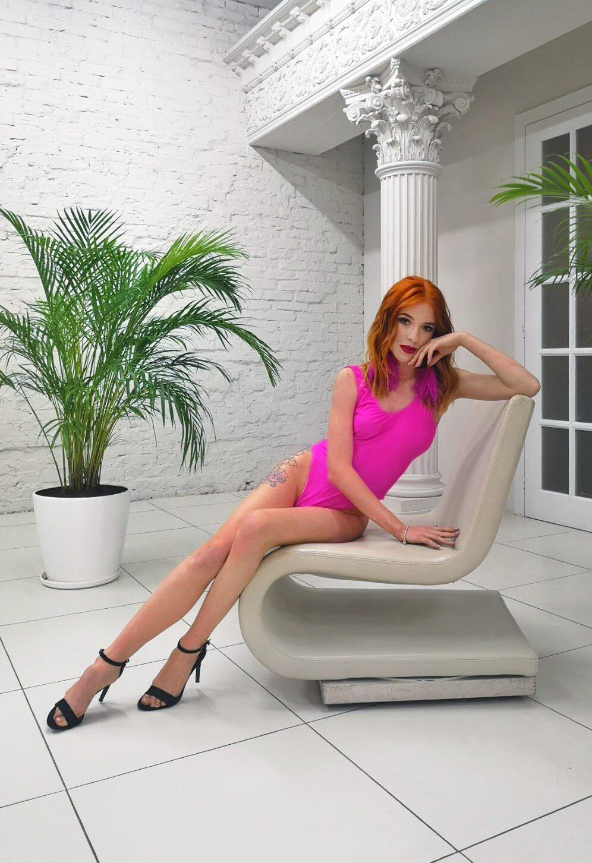 розовый купальник для фотосессии киев