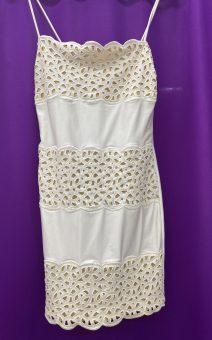 короткое белое кружевное платье прокат киев