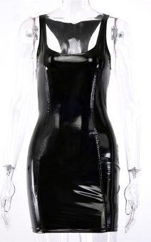 Короткое черное латексное платье в киеве прокат аренда