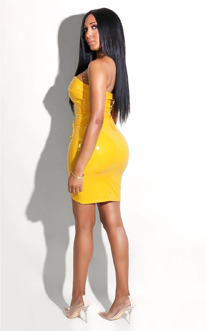 Желтый латекс