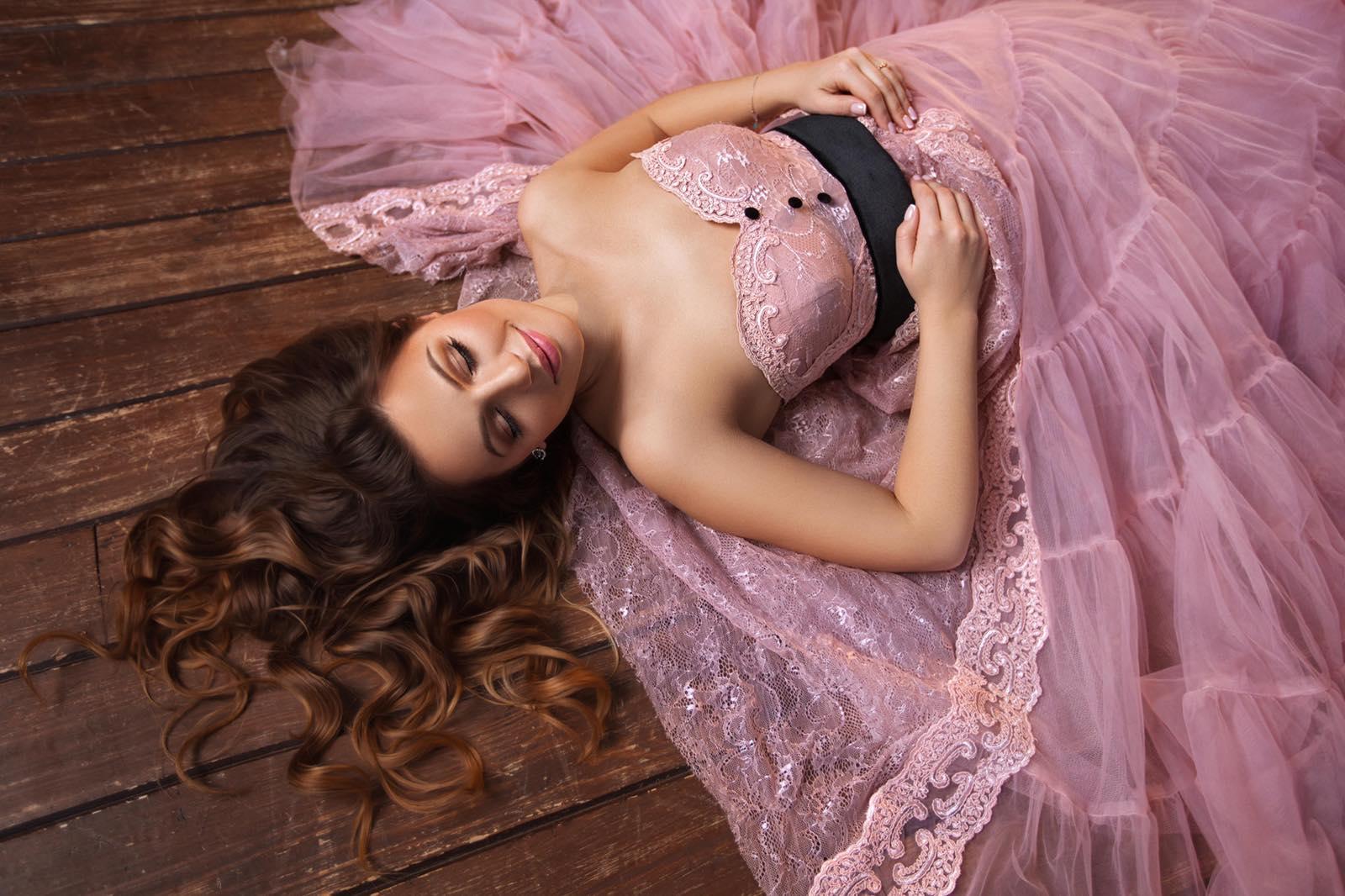 нежное платье для фотосессии киев
